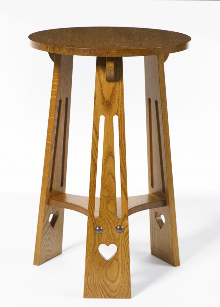 Arts Crafts Table High Gavin Robertson Furniture
