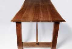 Dining Table-Waney Edge Walnut